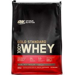 Gold Standard 100% Whey (10 lbs) - 140++ servings
